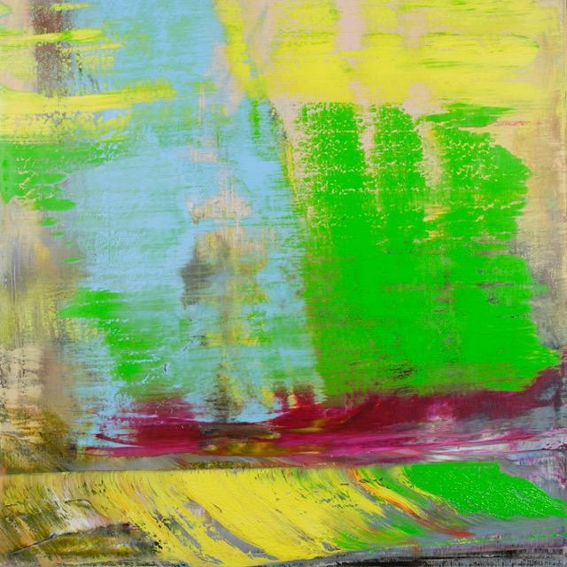Echo, 2011 Öl auf Leinwand Maße: 120 x 100cm