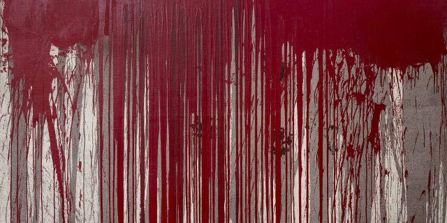 Sonja, 2005 Acryl auf Jute Maße: 200 x 300 cm
