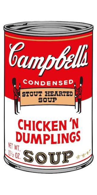 Chicken´n Dumblings (Campbell´s Soup II), 1969 Siebdruck auf Papier Edition: 250 Stück Rückseitig signiert und nummeriert Factory Additions NY