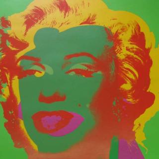 Marilyn, FS II.25 (grün), 1967 Siebdruck auf Papier Maße: 91,4 x 91,4 cm Edition: 250 Stück Rückseitig mit Bleistift signiert und mit Stempel nummeriert Verlag: Factory Editions NY