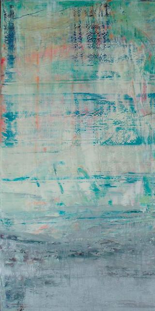 Nicotin on silverscreen, 2011 Öl auf Leinwand Maße: 180 x 120 cm