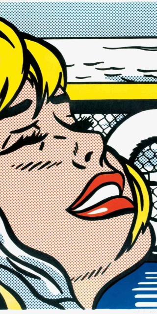 Shipboard Girl, WVZ Corlett C II.6, 1965 Offset Farblithografie auf thin wove Paper Maße: 66,0 x 48,5 cm (Blattgröße: 69,0 x 51,5 cm) Edition: Unbekannte Auflage Frontal mit Bleistift signiert Verlag: Leo Castelli Gallery NY