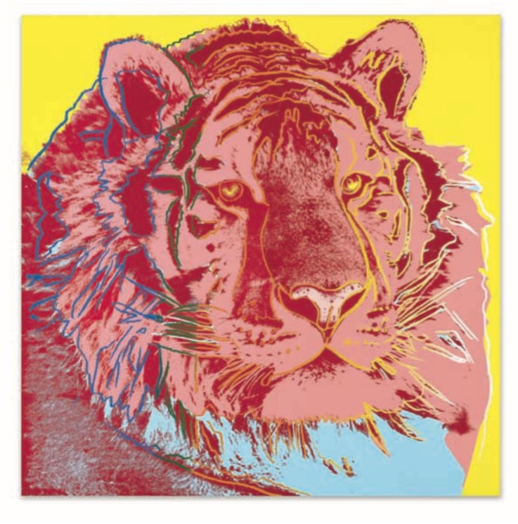 signed and dated 'Andy Warhol 83' (on the overlap); numbered 'PA29.005' (on the stretcher) synthetic polymer and silkscreen inks on canvas 60 x 60 in. (152.4 x 152.4 cm.) Painted in 1983.